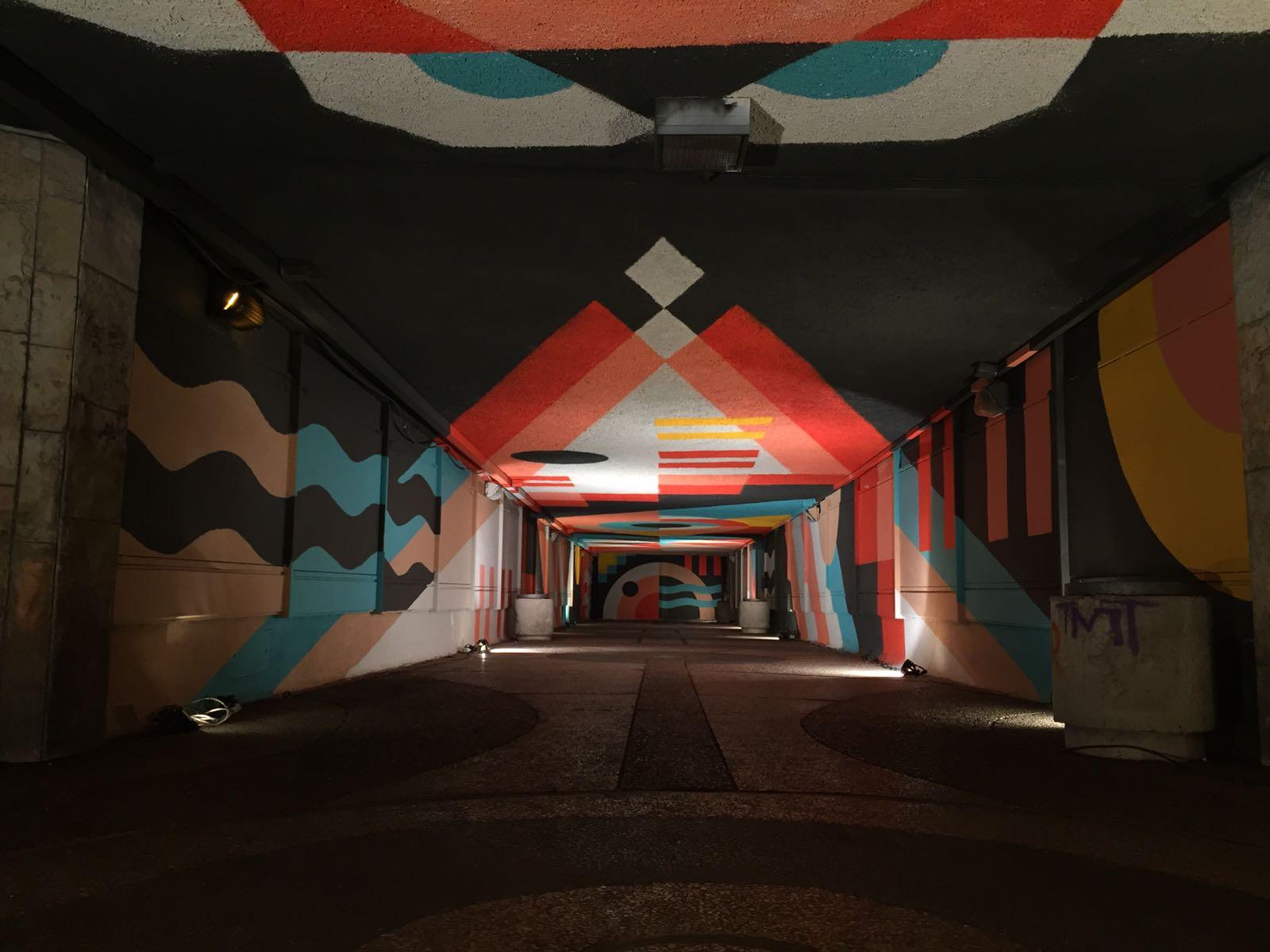 מעבר תת קרקעי רחוב שז״ר